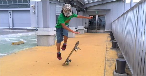 This 11-Year-Old Skateboarder Will Blow You Away